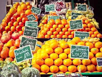 Fruit Stand Download Jigsaw Puzzle
